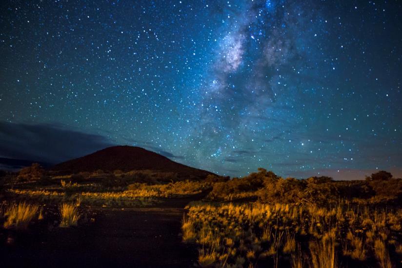Mauna Kea, uno dei cinque vulcani principali di Big Island
