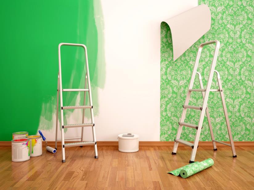 Carta Da Parati O Pittura.Come Decorare Le Pareti Di Casa Con Carta Da Parati O Pittura