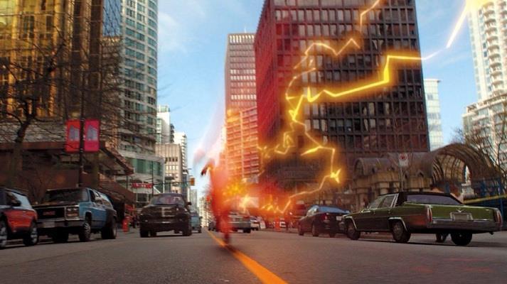 Flash corre per Central City