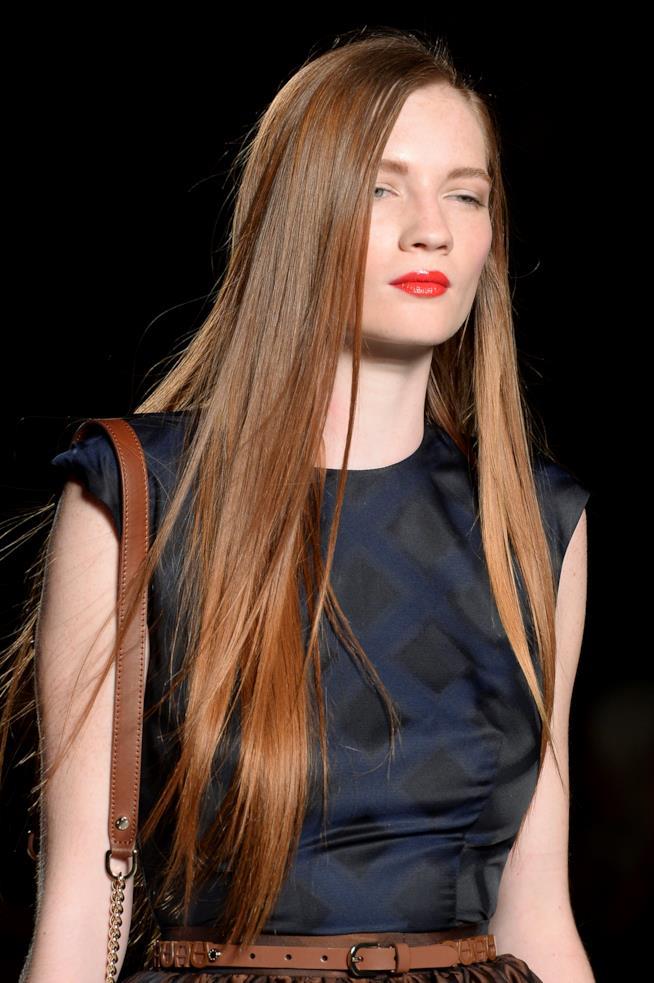Taglio capelli lunghi sfilati