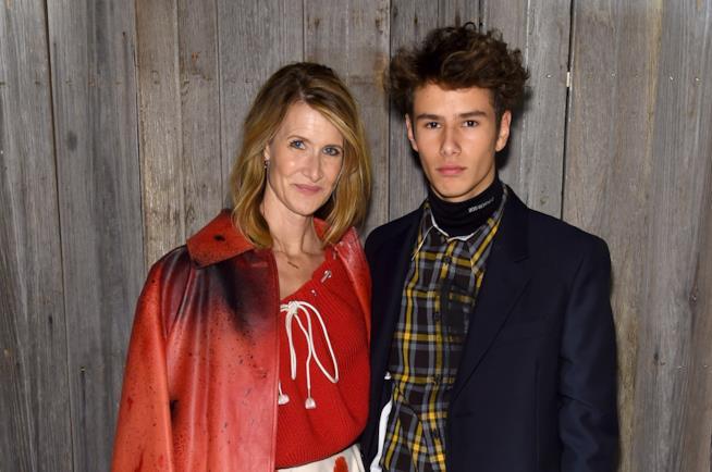 Laura Dern e il figlio Ellery Walker Harper