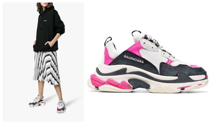 Con i dettagli fucsia, le sneakers da donna per l'autunno 2018