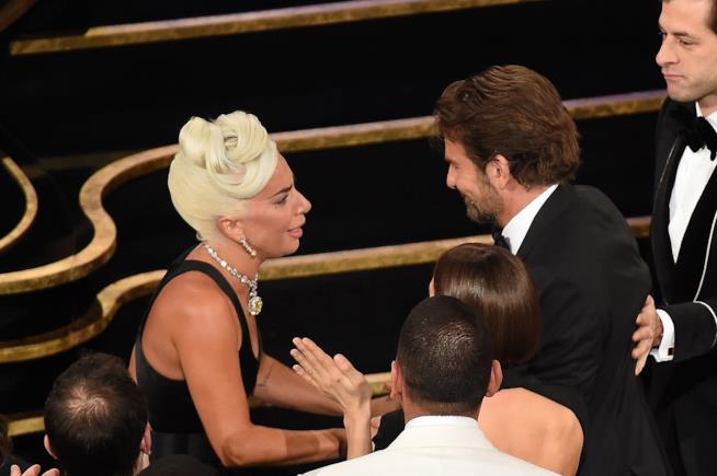 Lady Gaga e Bradley Cooper agli Oscar 2019