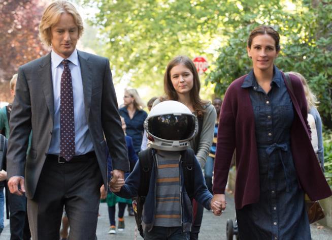Wonder, la famiglia di Auggie cammina per il parco