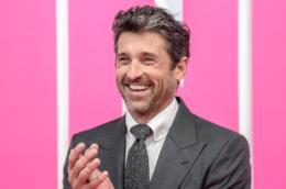 Un sorridente Patrick Dempsey alla presentazione di Bridget Jones's Baby