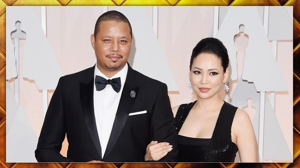 2/7 L'attore, candidato all'Oscar nel 2006, è stato accampagnato sul red carpet dalla (nuova) moglie Mira Cristine Pak.