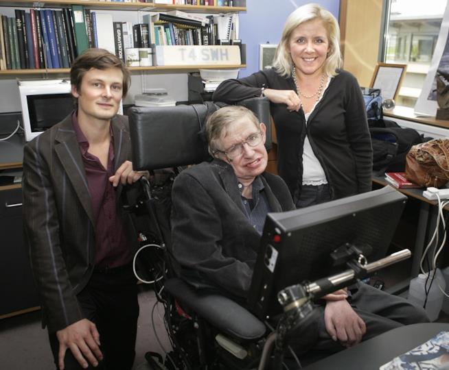 Stephen Hawking al lavoro