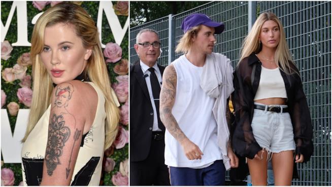Ireland Baldwin, Justin Bieber e Hailey Baldwin