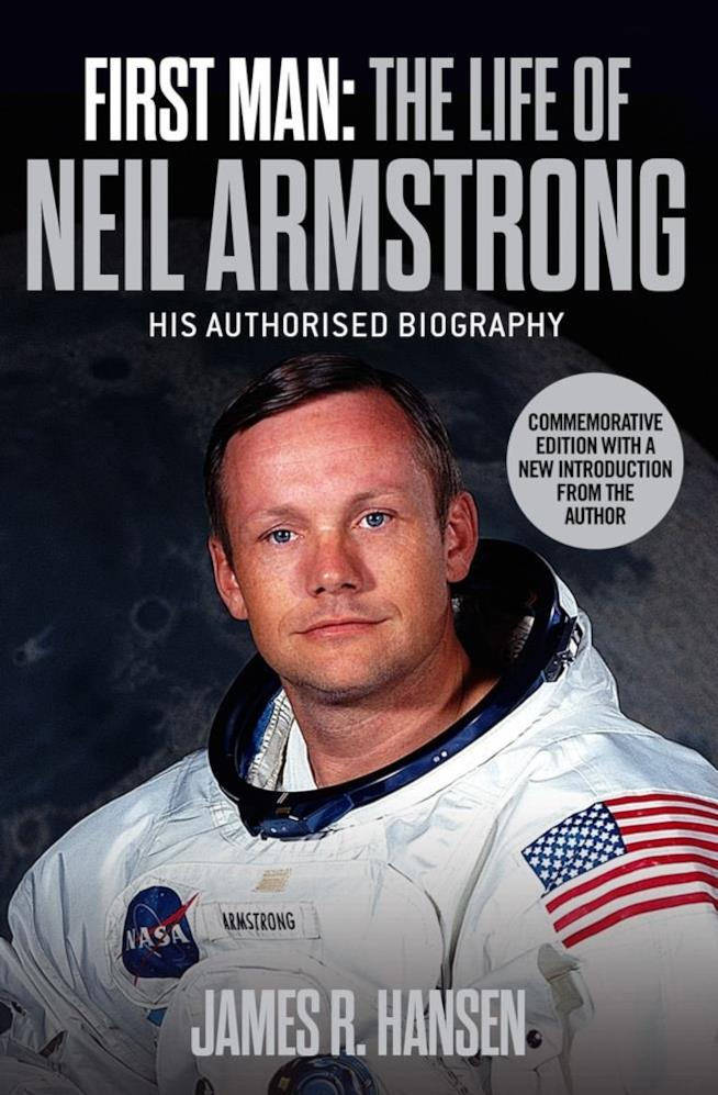 La copertina del libro First Man: The Life of Neil A. Armstrong