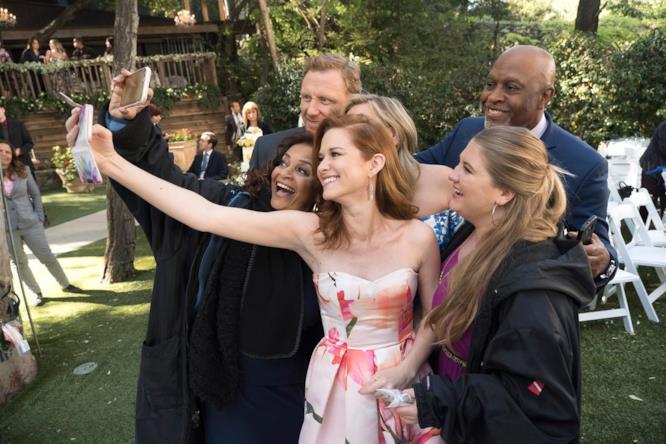 Ultima foto di Sarah Drew in Grey's Anatomy
