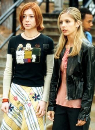 Buffy e Willow in un momento di Buffy