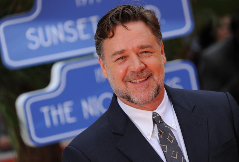 Primo piano di Russell Crowe