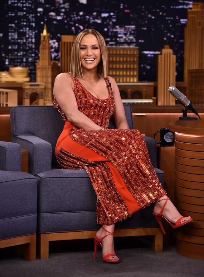 La pop star Jennifer Lopez