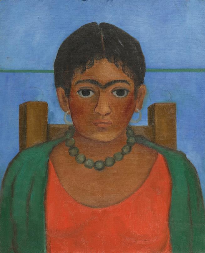 A Milano un'inedita Frida Kahlo