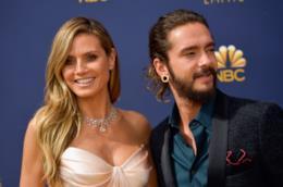 Heidi Klum e Tom Kaulitz agli Emmy 2018