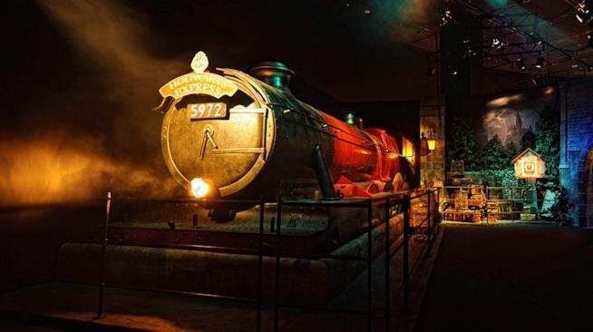 L'Hogwarts Express alla mostra itinerante di Harry Potter