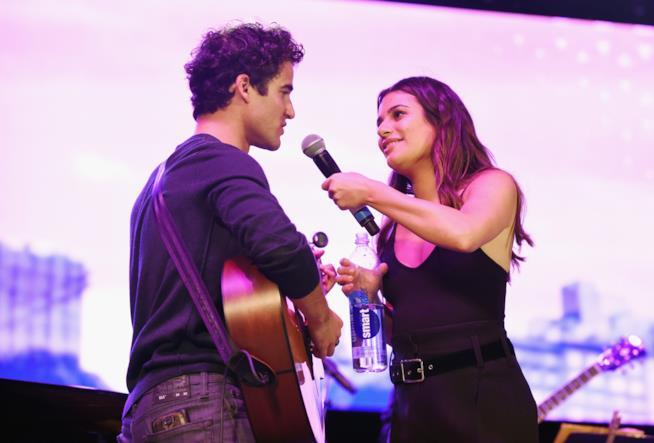 Darren Criss e Lea Michele