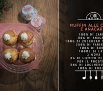 Muffin con carote e anacardi