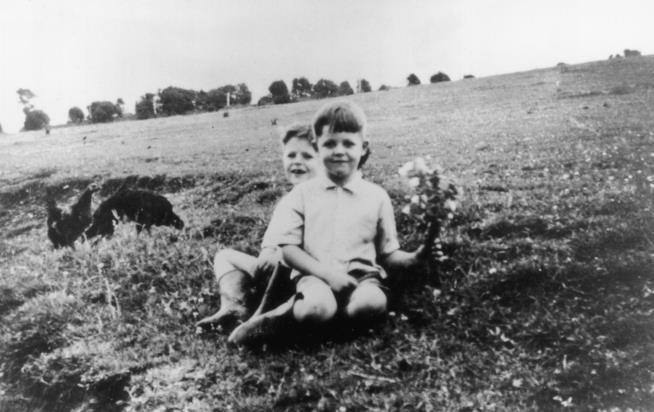 L'ex Beatle Paul McCartney da piccolo