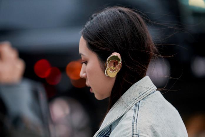 Streetwear London Fashion Week earcuff