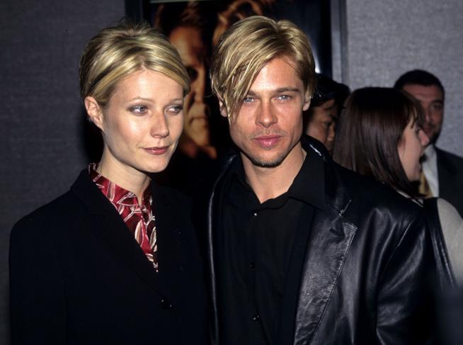 Gwyneth Paltrow e Brad Pitt ai tempi della loro storia
