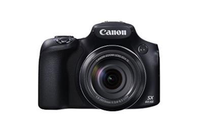 Canon PowerShot SX60 HS, Nero/Antracite