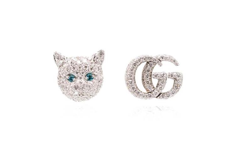Orecchini Gucci in diamanti e oro