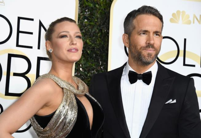 Blake Lively e Ryan Reynolds, splendidi e uniti