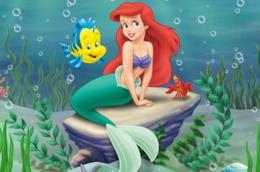 Un'immagine di Ariel ne La Sirenetta