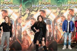 Bendetta Parodi, Bouchra, Danti e Fabio Rovazzi all'anteprima di Thor: Ragnarok
