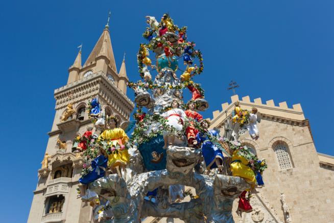 Il 15 agosto a Messina si svolge la Vara