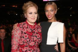 Le cantanti Adele e Beyoncé