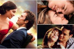 Un collage tra Io prima di te, Colpa delle stelle e I passi dell'amore