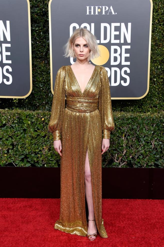 Lucy Boynton ai Golden Globes