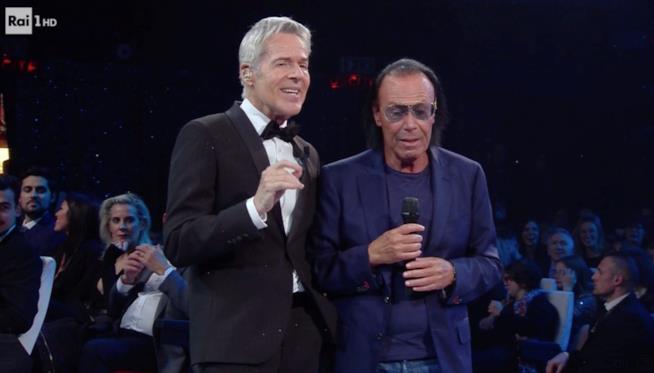 Claudio Baglioni e Antonello Venditti