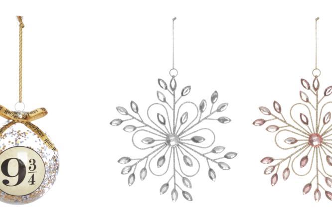 Palla di Natale di Harry Potter e ornamenti a cristallo di ghiaccio