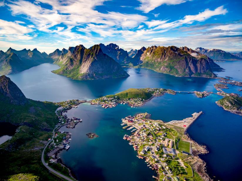 Visitare le isole Lofoten, partendo con la ferrovia del Nordland