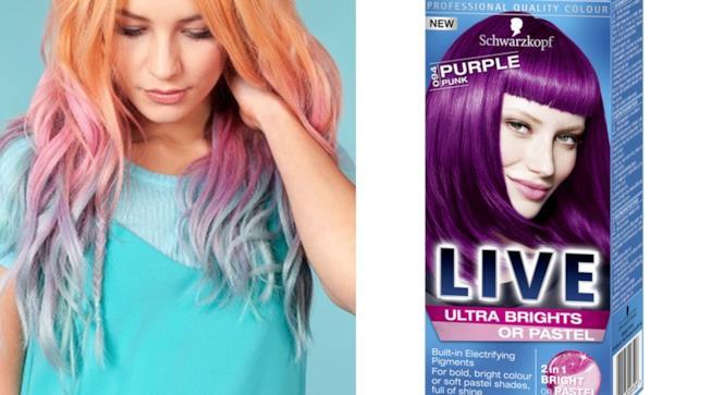 Live Brights e Pastels di Scharzkopf per capelli carichi di colore in tante sfumature