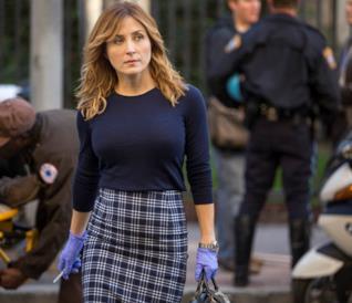 Sasha Alexander in un'immagine da Rizzoli & Isles