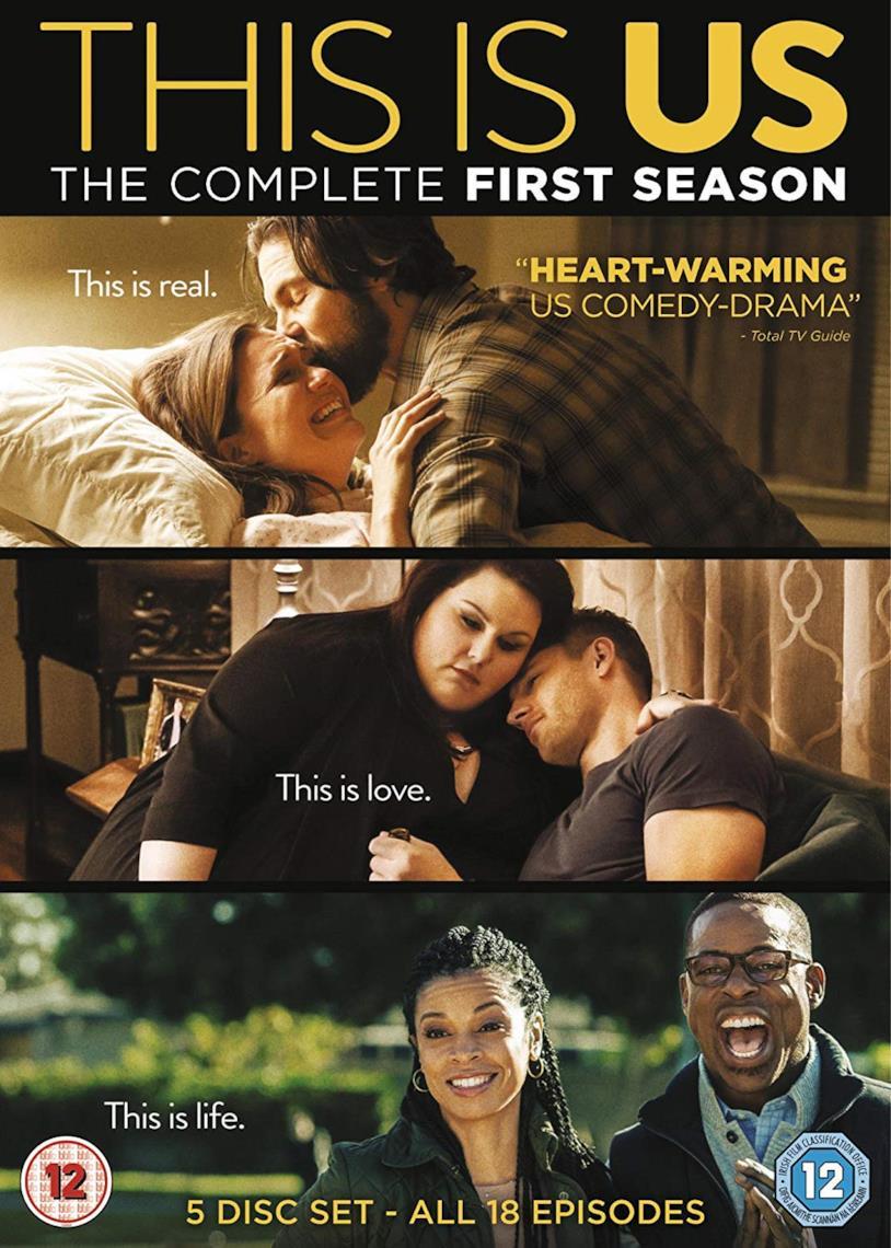 Cofanetto DVD di This Is Us - Stagione 1