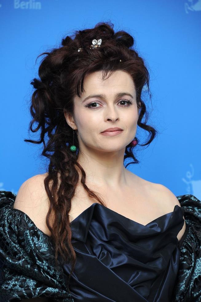 Helena Bonham Carter in primo piano