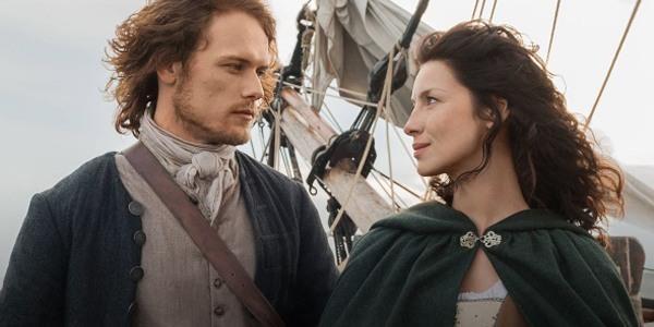 Uno sguardo appasionato tra Jamie e Claire di Outlander