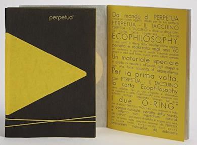 Perpetua NOTEBOOK/taccuino, Yellow