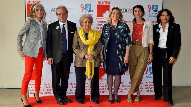 I relatori della conferenza di presentazione di Love Design