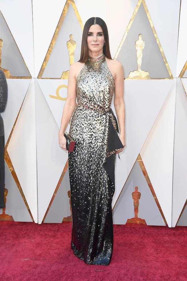 Sandra Bullock a figura intera agli Oscar