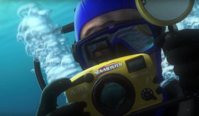 Scena tratta da Alla ricerca di Nemo