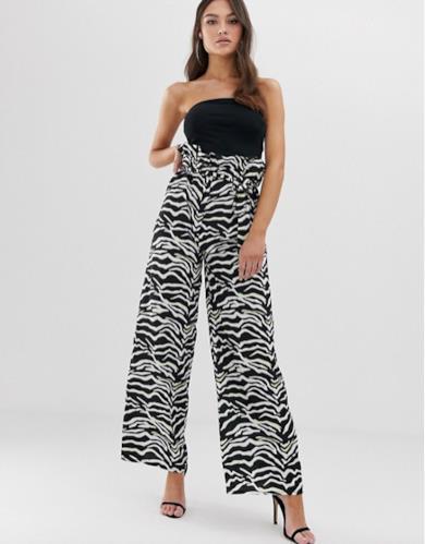 Pantaloni zebrati