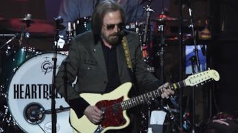 Tom Petty in una delle sue ultime apparizioni pubbliche