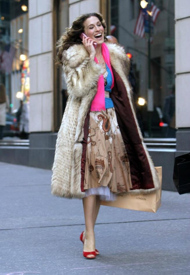 Carrie Bradshow e le pellicce