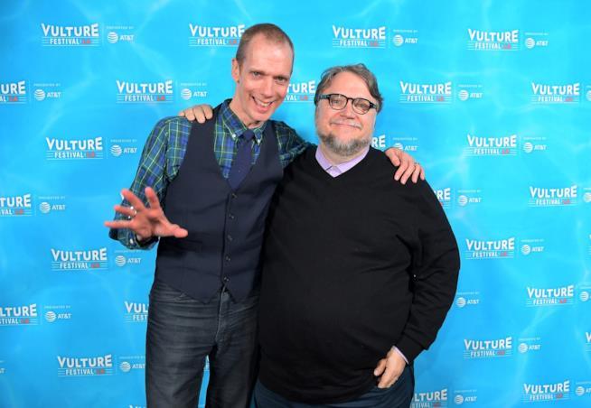Doug Jones e Guillermo del Toro al Vulture Festival LA